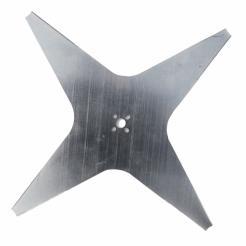 Žací nůž 4 břity 22 cm