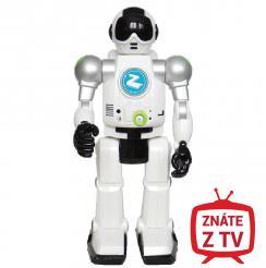 Made Robot Zigy s funkcí rozpoznání hlasu a IR dálkovým ovládáním mluvící česky Zigybot