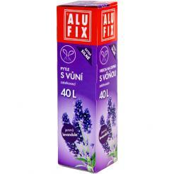 Pytle 40L do odpadkových košů se zatahovací páskou s aroma levandule