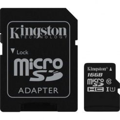 Kingston microSDHC 16GB UHS-I U1 SDCG/16GBSP